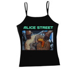 Alice Street - The Heart Beat of Oakland - Juniors Spaghetti Strap